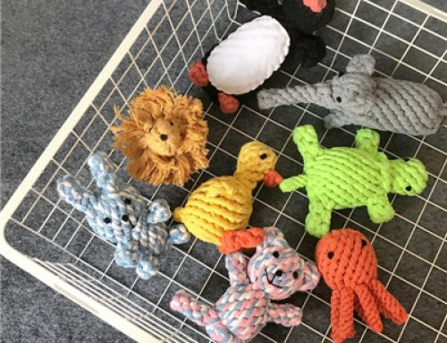 High quality knots cotton rope wholesale dog toy